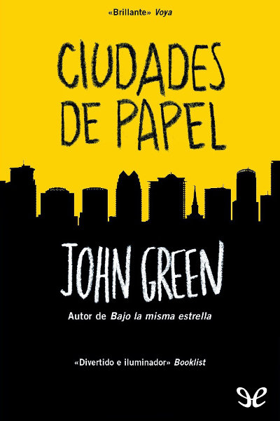 Descargar libro Ciudades de papel - John Green - Epub